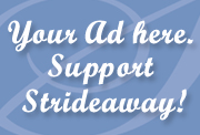 Strideaway Button Ad